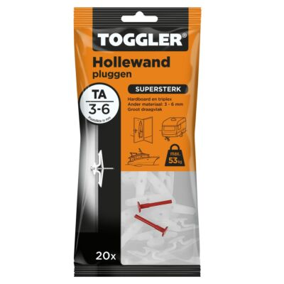 Hollewand plug TA 3-6mm 20st