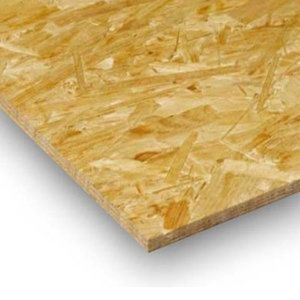 OSB dikte 9 mm afm 122x244 kantig sterling