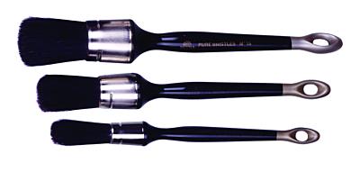 Patentkwast 12mm zwart