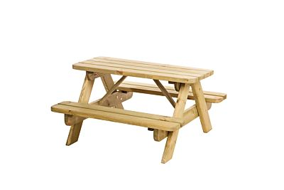 Picknicktafel junior Bjorn bladmaat 90x38,5cm