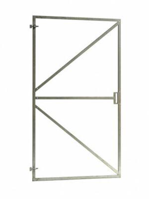 Stalen poortframe 100x180cm met slotkast