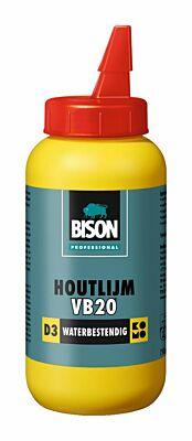 Bison prof houtlijm VB20 D3 bot 250g*12 NL