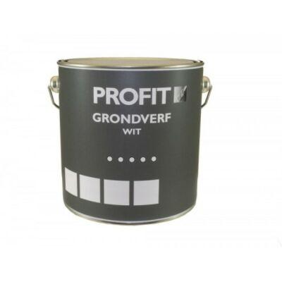 Profit grondverf op waterbasis wit 0,75liter