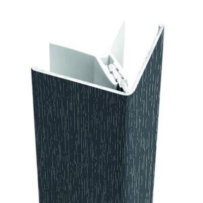 Protex buitenhoek 300cm antraciet (ral 7016)