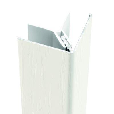 Protex buitenhoek 300cm cremewit (ral 9001)