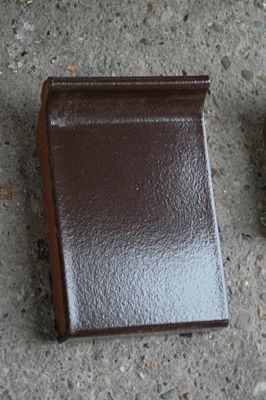 Raamdorpelsteen bruin verglaasd afm 10,5x10,5 terca