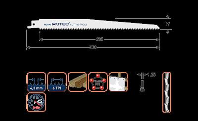 ROTEC RECIPROZAGEN RC190 (VPE 2 STUKS)