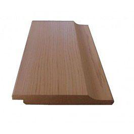 Red cedar halfhouts rabat volhout afm 18x127mm 335cm