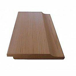 *Tijdelijk niet leverbaar*Red cedar halfhouts rabat volhout 18x130mm 365cm