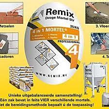 Remix 4 in 1 mortel zak a 25 kg