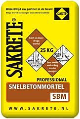 Snelbeton sakrete zak a 25kg