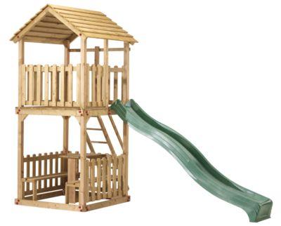 Speelhuis action met picknickset afm 127(L)x127(B)x310(H)cm