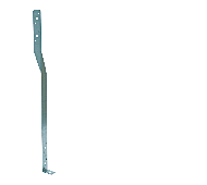 Stormanker 30x2x400mm verzinkt