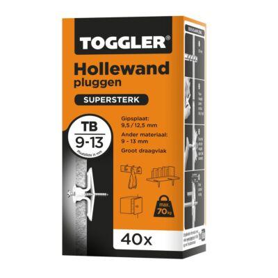 Hollewand plug TB 9-13mm 40st