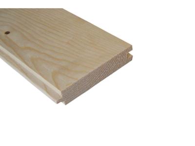 Vuren vloerhout met v-groef afm 22x125mm g en g 330cm
