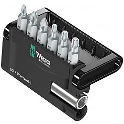 Wera Mini-check bitset 7-delig